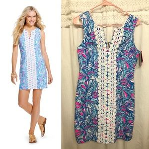 Lilly for Target Shift Dress in Oh My Fans
